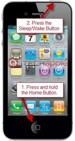 Capture-Screenshot-of-iPhone-Screen