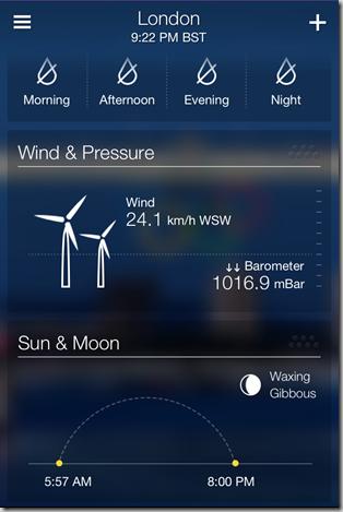 Yahoo Weather App for iPhone - iOS Screenshot 10