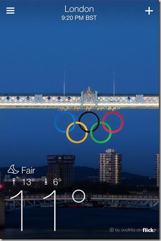 Yahoo Weather App for iPhone - iOS Screenshot 2