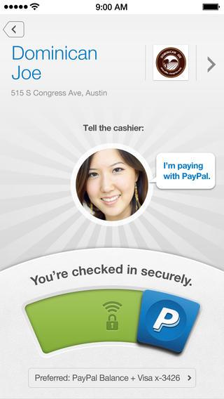 Paypal iOS App